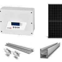 SolarEdge 3.5Kw HD Wave Grid-Tie Inverter 3.6Kwp of Solar PV Array Complete with wiring and switch gear